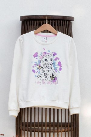 Sweatshirt %100 Pamuk принт на данном изделии изготовлен с применением нано технологий, при попадании на него солнечного света меняет цвет. Стирать в холодной воде, сушить в темноте.