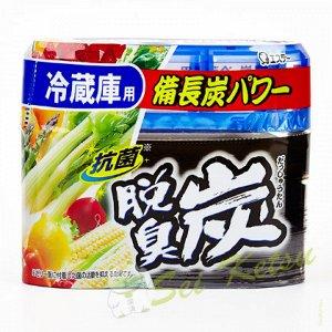 """111176 """"ST"""" """"Dashshuutan"""" Желеобразный дезодорант с древесным углем """"Бинчотан"""" для холодильника (основная камера) 140 г."""