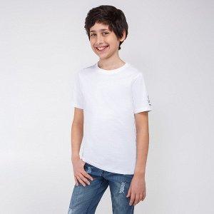 Фуфайка детская для мальчиков Nanna_ind белый