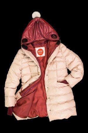 63594_OOG Пальто - пуховик для девочки