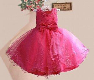 Платье для девочки. 2шт.
