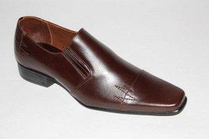 Кожаные мужские туфли 27,5-28см