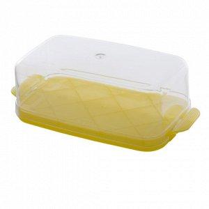 Масленка Масленка. Размер изделия: 175*85*55 мм Чтобы масло хранилось долго и не теряло свою свежесть, его следует хранить в надежной масленке, произведенной из качественных современных материалов. Им