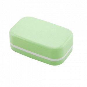 Мыльница Мыльница. Размер изделия: 110*68*38 мм Дорожная пластиковая мыльница от компании Полимербыт – это удобное и стильное приспособление, которое вы можете приобрести по самой низкой цене. При это