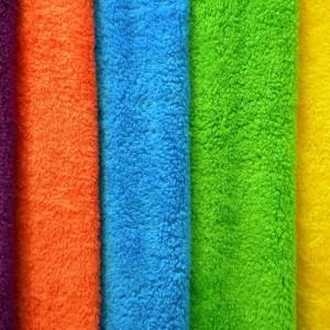 Полотенце для ног махровое без рисунка. 50*70