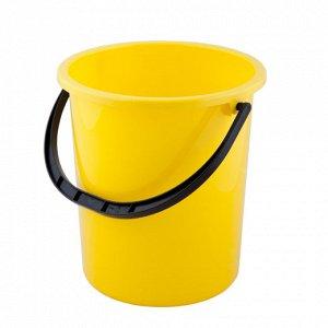 Ведро Ведро  9,0л б/к.Размер изделия (мм): 280*280*280 Яркие, прочные пластиковые ведра, выпускаемые нами из самой качественной пластмассы, несомненно, порадуют любую хозяйку. Найти применение 9-литро