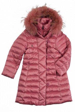 Зимнее пальто от Сладких Ягодок р-р 104