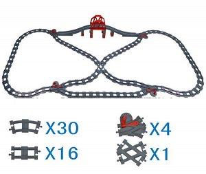 Мост+рельсы