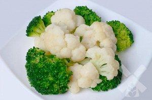Смесь цветная капуста и брокколи  быстрозамороженная Vegepak СОРТ А 1,0кг