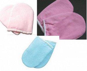 Варежки для парафинотерапии цвет розовый