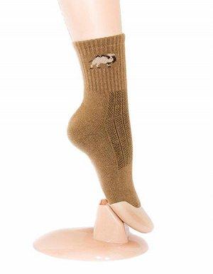 Носки из верблюжьей шерсти темные (взрослые)
