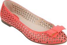 Туфли Ralf кожа открытые красные