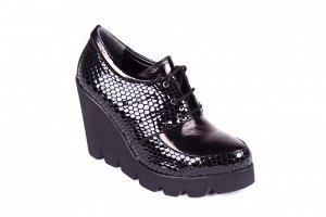Полуботинки-туфли кожаные