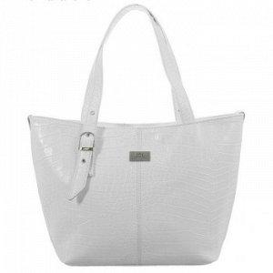 Пристрою белую вместительную сумку