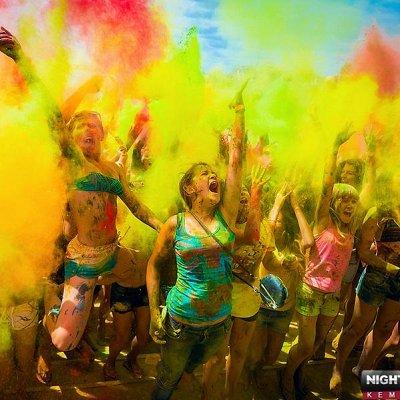Краски Холи-16 Раскрасим лето в яркие цвета!
