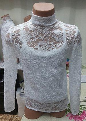 блузочка гипюровая