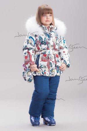 куртка от комплекта с варежками