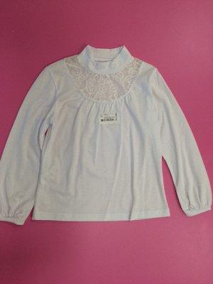 203661 Блузка для девочки белая