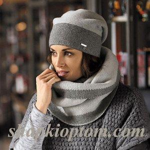 Элегантная шапка (есть к ней шарф)