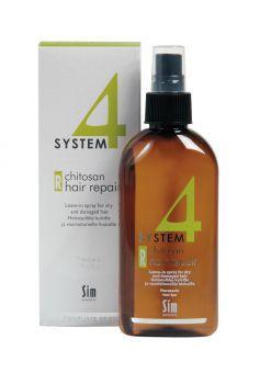 "System 4 Chitosan Hair Repair sparay «R» спрей д/восстановления волос ""R"", 200 мл. Для восстановления поврежд волос"
