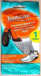 Footcare Вкладыши замшевые внутрь задников обуви 3890