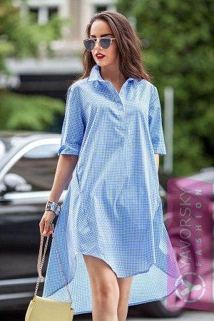 Интересное платье-рубашка