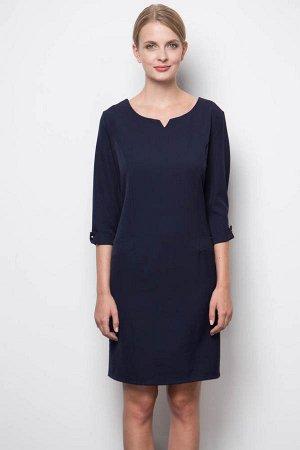 Платье в офис р.50
