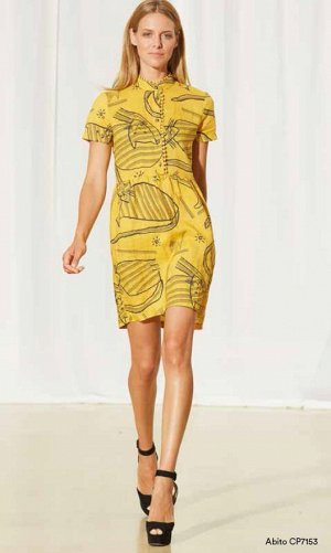 Платье из ткани Ramie. Для ценителей эко тканей