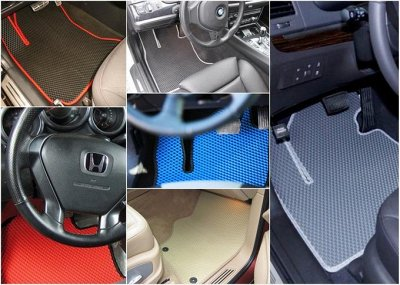 IVITEX эксперт Чистоты в Вашем авто — Фото ковриков в реале+ образцы. — Для авто