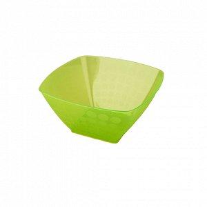 Салатник Салатник  0,8л [НУВО] квадр Салатник на столе – это не только удобство, но и украшение. Так считают дизайнеры компании Полимербыт, разработавшие серию салатников «НУВО» для вашего стола. Фрук