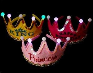 Ободок-корона светящийся