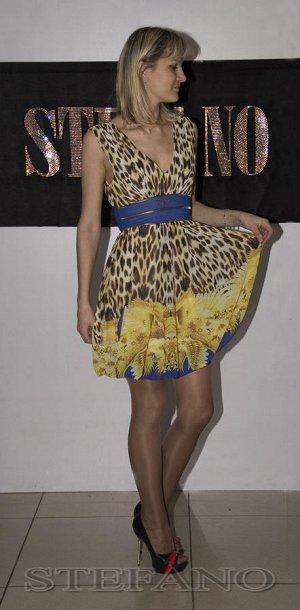 71369-23 Платье STE*FANO в стиле беби-долл цветное