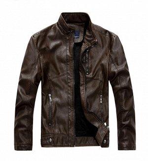 Куртка мужская утепленная, цвет венге