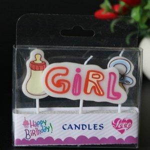 "Набор свечей ""Girl"""