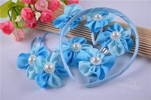 Набор аксессуаров для волос голубой