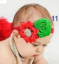 Повязка для волос с двумя цветами