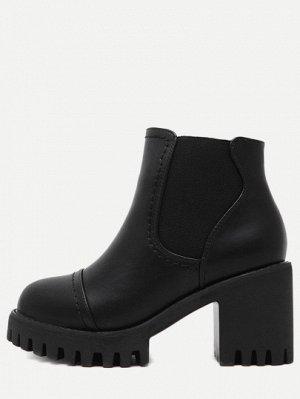 Осенние ботинки для модниц