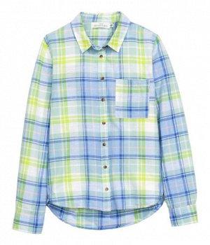 Чудная рубашка х/бы,  легкая, на 42-44