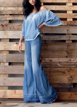 MET Джинсовая блуза