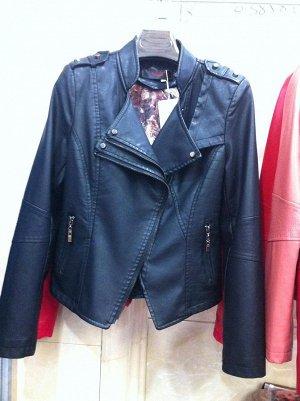 Хорошая куртка из кожи PU