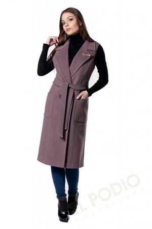 *Пальто женское. Цвет Какао