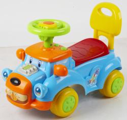 Автомобиль для катания детей (толокар) 554 (синий)