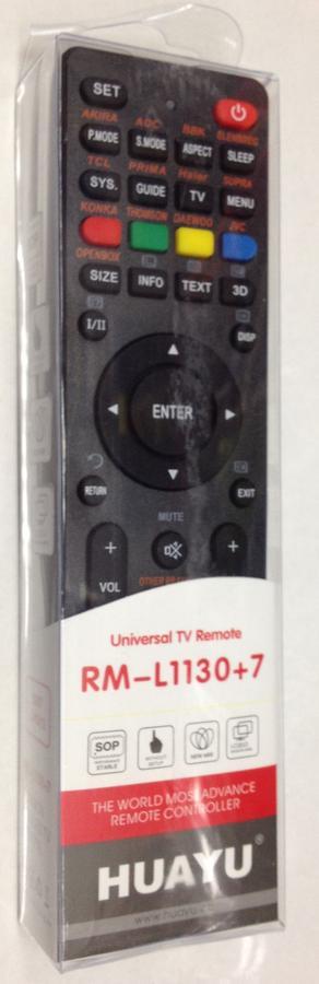 Универсальный пульт для TV RM-L1130