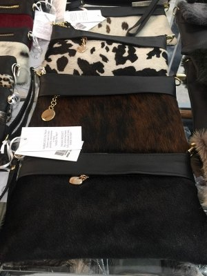 Черная сумочка из Италии