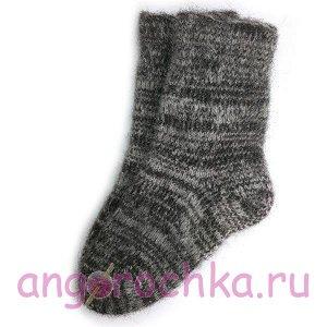 Мужские теплые шерстяные носки темного цвета - 502.16
