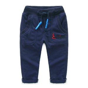 Трикотажные штаны на мальчика, демисезон