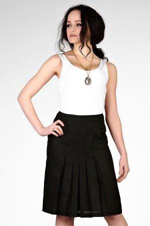 Классическая юбка 100% лен.