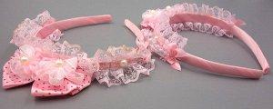 Ободок Нежно-розовый ободок для девочек