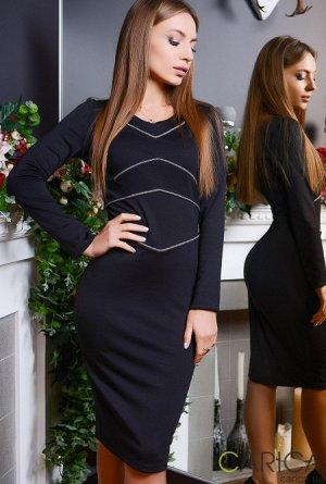 хорошее платье(черное)