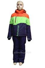 Детский горнолыжный костюм HXP 17009_Orange